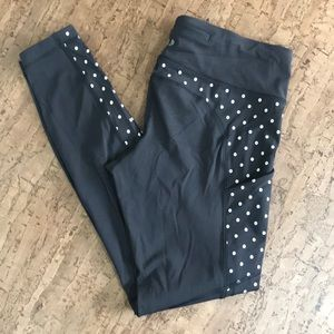 Black Brushed Speed Tight IV Reflective Sequin Dot